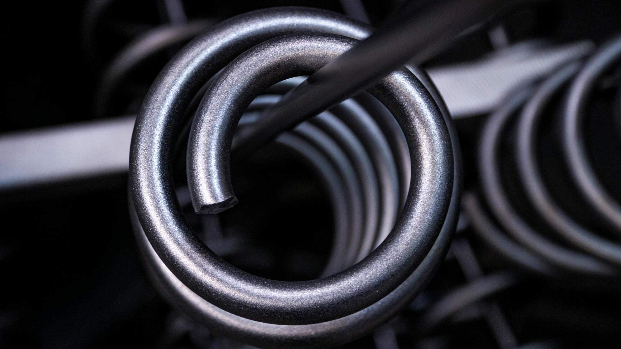 Custom-made compression springs